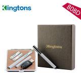 2015 Top Selling 300 Puffs E Cigarette Vapor Pen with Two Disposable Cartridges (K808D)
