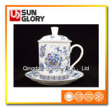 Bone China Cap Cup with Cover of GB018