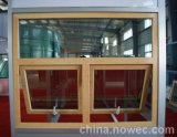 High Quality Standard European Style Solid Oak/Teak Wood Clad Aluminum Awning Window for Residential Building