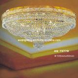 European Hotel Chorme Crystal Ceiling Lamp (AQ7077D)