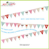 Heart Style Paper Banner for Wedding Decoration