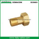 Customized Brass External Thread Joint Hose Fitting (AV-BF-7048)