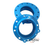 Ductile Iron Sand Cast Iron Pipe Fittings Threaded Blank Flange