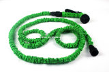 Colorful 25ft/50ft/75ft/100ft Expandable Pocket Hose with Spray Standard Nozzle and Valve