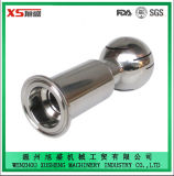 Stainless Steel SUS304 SUS316 Sanitary Ferrule Ends Rotary Washing Nozzle