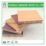 Wood Grain Color 15mm 1220X2440mm Melamine Particle Board