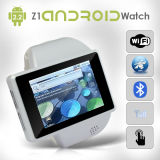 Android Smart Watch Mobile Phone Wrist Z1 Camera WiFi GPS Bluetooth