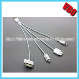 4 in 1 USB Charging Cable for iPhone 5/4/S3/S4/S5