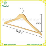 Female Male Wooden Hanger for Hotel Thickness 1.2cm