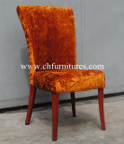 Factory Price Red Painting Red Fabric Dining Chair (YC-F073)