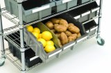 Restaurant Kitchen Wire Storage Shelving Rack