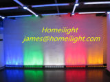 12PCS of RGB 3in1 18 X3w LED Wall Washer Running Color Effect Wall Washer Waterproof LED Wall Lamp
