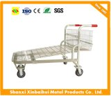 Excellent Quality Supermarket Flat Trolley Cart