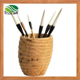 Bamboo Root Writing Brush Holder