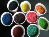 High Quality ~! ! ! Aerobic Rubber Flooring, Rubber Gym Flooring, No Harmful, Black Rubber + Coloful EPDM Granules