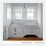 China White Marble Countertop for Kitchen and Bathroom