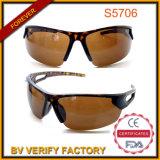 Demi Tort Half-Rim Outdoor Sports Sunglasses with Polarized Lenes