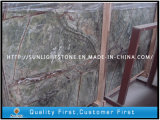 Natural Tropic Rainforest Green Stone Marble for Countertop, Floor Tiles