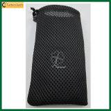 Mobile Phone Mesh Drawstring Bag Pouch (TP-0B022)