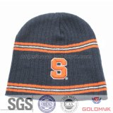 3D Embroidery Ski Cap Without Cuff