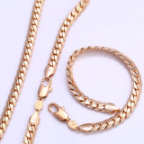 Xuping 18k Gold Plated Fashion Jewelry Chains Set (61935)