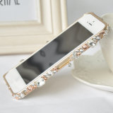 Diamond Bling Metal Bumper Case Cover for Iphoen5s
