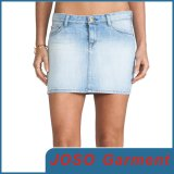 Light Blue Sexy Denim Mini Skirt (JC2023)
