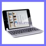Ultrathin Fold Case with Aluminum Wireless Bluetooth Folio Keyboard for iPad 5 / Air / 3 / 4 Gen
