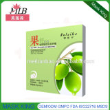 Olive Skin Nourishing Moisturizing Fruit Fiber Silk Face Mask