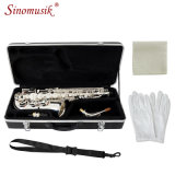 China Silver Finish Eb Alto Saxophone for Sale