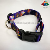 Large Eco-Friendly Printing Pet Nylon Dog Collar