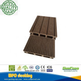 Wholesale Moisture-Proof Interlocking WPC Decoration HDPE Wooden Texture Decking Panel