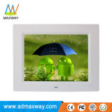 China Shenzhen HD LCD Digital Picture Frame 8 Inch with WiFi Wireless 3G 4G (MW-087WDPF)