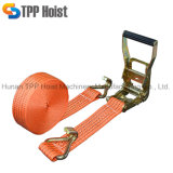 Hot Sale 5m 8m 10m Ratchet Tie Down Strap for Fasten Goods