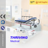 Luxurious Hydraulic Rise-and-Fall Stretcher Cart with Weight Scale