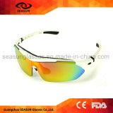 Youth PC Arms Detachable Anti UV Coating Lens Sports Sunglasses for Cycling Running Volleyball Baseball
