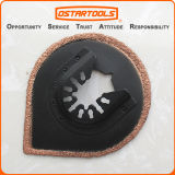 70mm (2-3/4′′) Tear Drop-Shaped Oscillating Multi Tool Carbide Blade