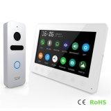 Memory Home Security Doorbell 7 Inches Video Door Phone Interphone