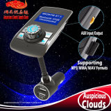 AC-2032 Car Bluetooth FM MP3 Transmitter Player with Dual USB Charger