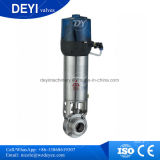 DIN50 Male Butterfly Valve with Double-Acting Actuator At100
