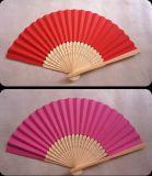 Promotional Gift Portable Custom Printed Folding Logo Bamboo Hand Fan