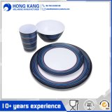 Eco-Friendly Multicolor Plastic Melamine Dinnerware Tableware Set