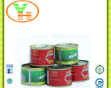 OEM Canned Tomato Paste HACCP Halal Certificate Canned Food