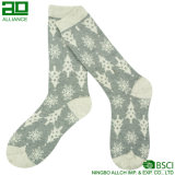 Christmas Tree Cheer up Knitted Cotton Men Socks