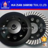 Turbo Segment Cup Shape Stone Diamond Grinding Wheel