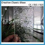 3mm Clear Nashiji Wired Glass Pattern Glass 1830*2440mm
