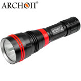 Professional Diving Flashlight LED Submarine Flashlight Outdoor Waterproof Torch 1200 Lumen