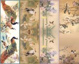 Top Quality Printed Silk Twill Scarf (C-006)