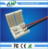 Solderless 2pin 3pin single color LED strip connector