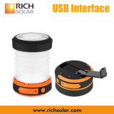 USB Charger Colorful Solar LED Lantern Light for Outdoor Camping